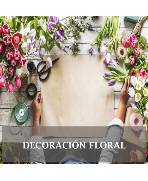 Decoración floral